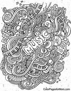 Doodles 62 Coloring Page