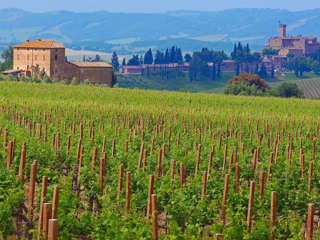 Take a trip to Tuscany.