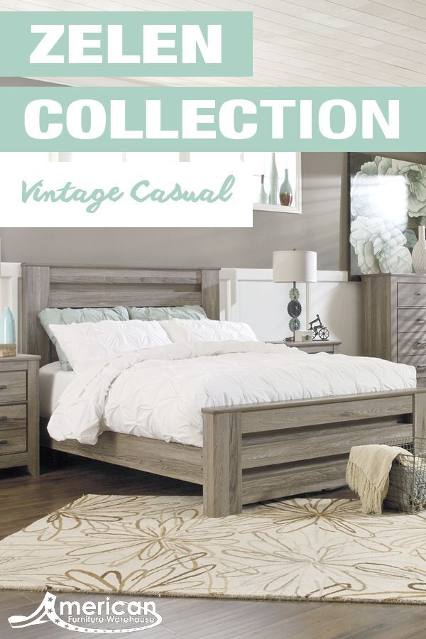 Discover Your Style At American Furniture Warehouse Shop The Zelen Collection By Ashley Furni Bedroom Furniture Sets Ashley Furniture Modern Bedroom Furniture