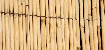 How Keep a Reed Fence From Weathering | eHow.com