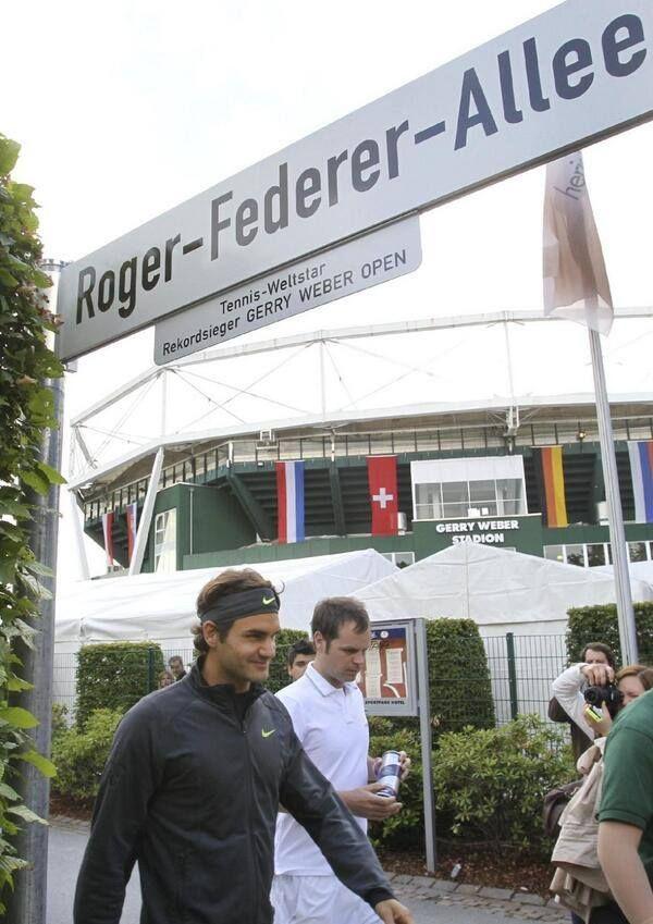 Federer - Gerry Weber Open 2014 (Halle, Germany)