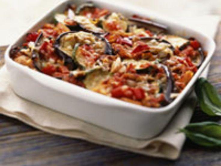 Découvrez la recette Tian d'aubergines sur cuisineactuelle.fr.