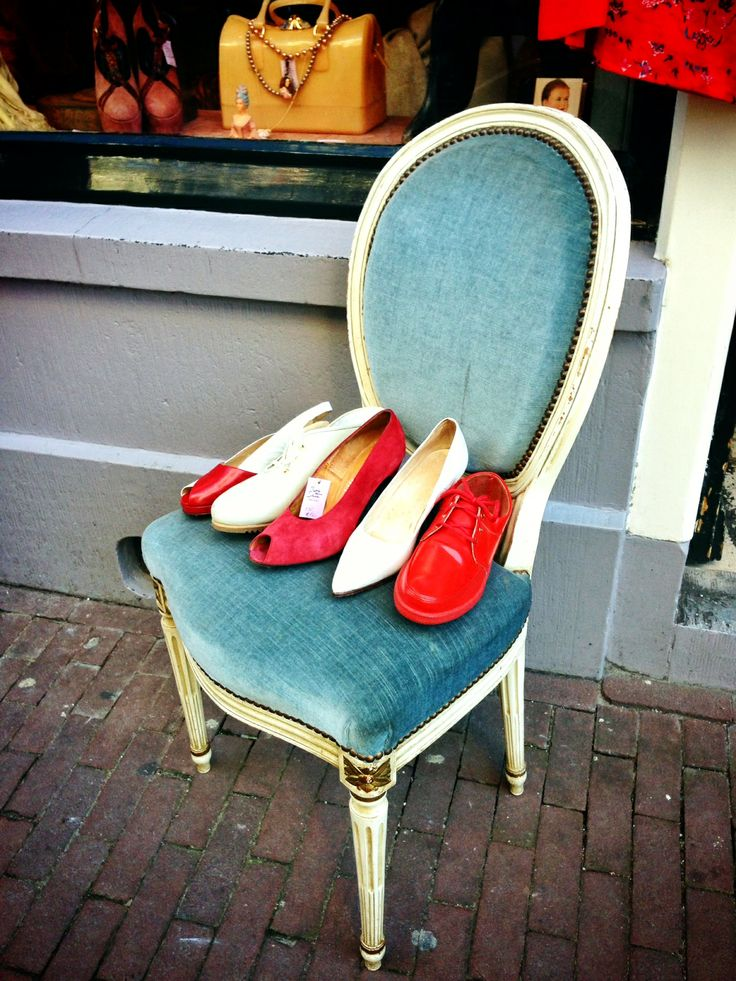 Retro Chic - Chair and Shoes
