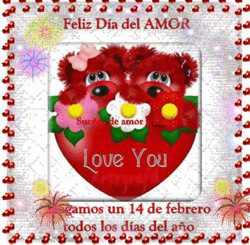 SUEÑOS DE AMOR Y MAGIA: Feliz día del amor.