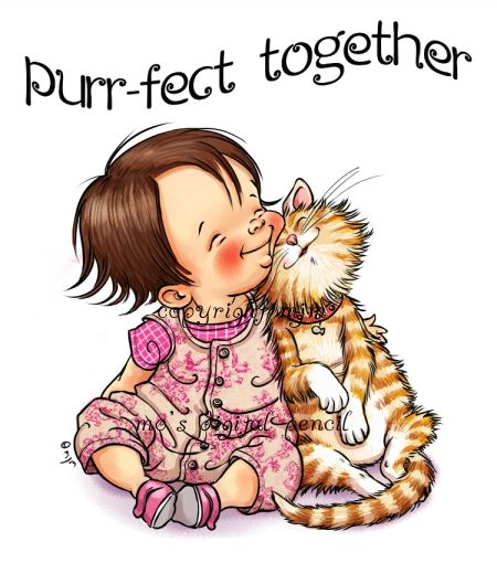 Purr-fect Together - Mo's Digital Pencil