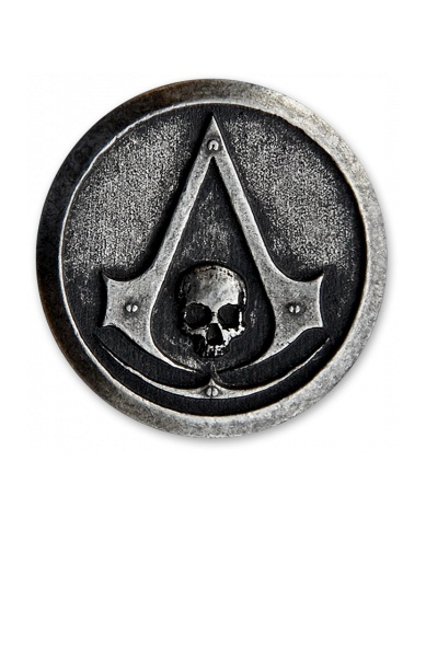 Assassin's Creed Black Flag Pin