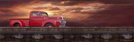 Red pickup truck chevy 66 trendy ideas