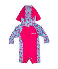Baby-Toddler-Girl-Rash-Suit-Sun-Vest-Hat-Pink-Blue-Flowers-Ballerina-Blooms-Long-Sleeve-LSRSBB1617-000-3