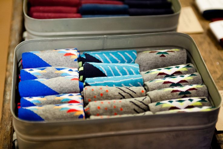 Socks are a Christmas staple - mix it up with cool designs from Brok in Shrewsbury