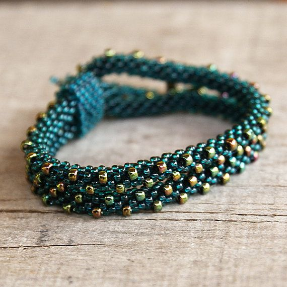green to teal by Bina Alper on Etsy