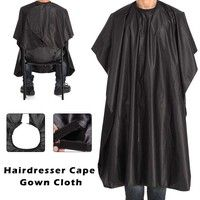 Wish | New Cutting Hair Waterproof Cloth Salon Barber Gown Cape Hairdressing Hairdresser