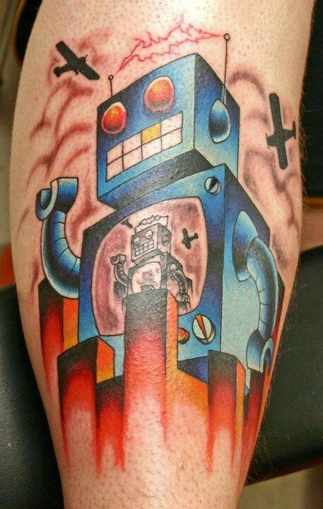 Yet another Robotic Tattoo!