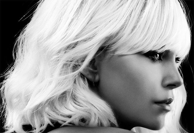 Glam Up with New Sin City-Style Atomic Blonde Poster