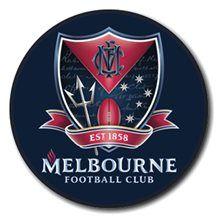 MELBOURNE DEMONS TEAM BADGE