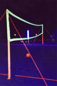 glow in the dark volleyball. how about yes