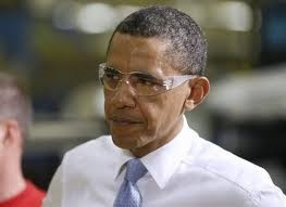 Even the President knows how important eyewear safety is!