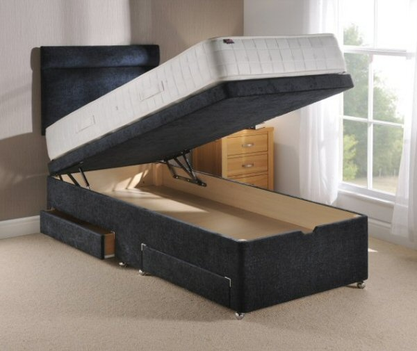 Side Lift Up Bed Storage : Images about lift up storage bed ideas on pinterest