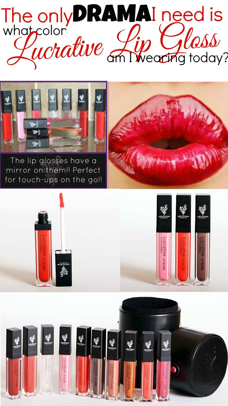 Have you ordered your Lucrative Lip Gloss yet? Try it now!  You won't be disappointed!! www.moorelovelylashes.com