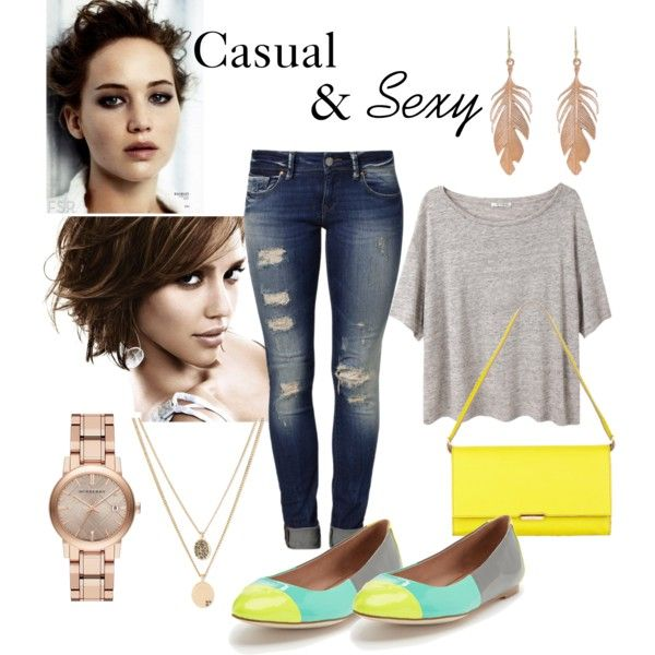 """""""Casual & Sexy"""" by caryvanessa on Polyvore"""