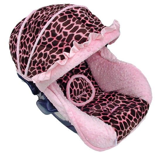 baby giraffe pink seat cover nollie covers