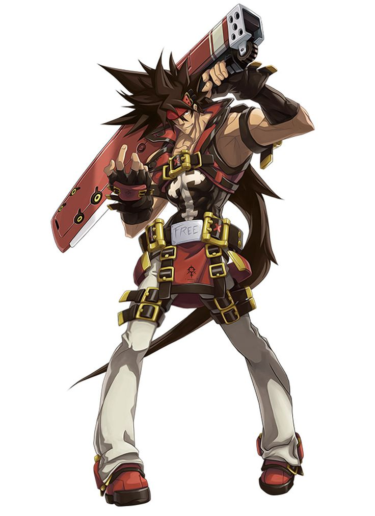 Sol Badguy from Guilty Gear Xrd -Sign-