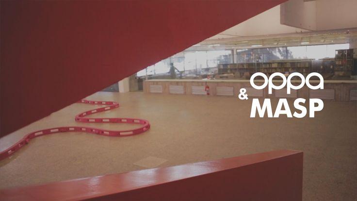 Oppa&Masp - Exposição Playgrounds  2016