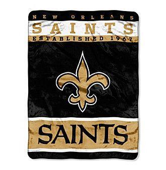New Orleans Saints 12th Man Raschel Throw