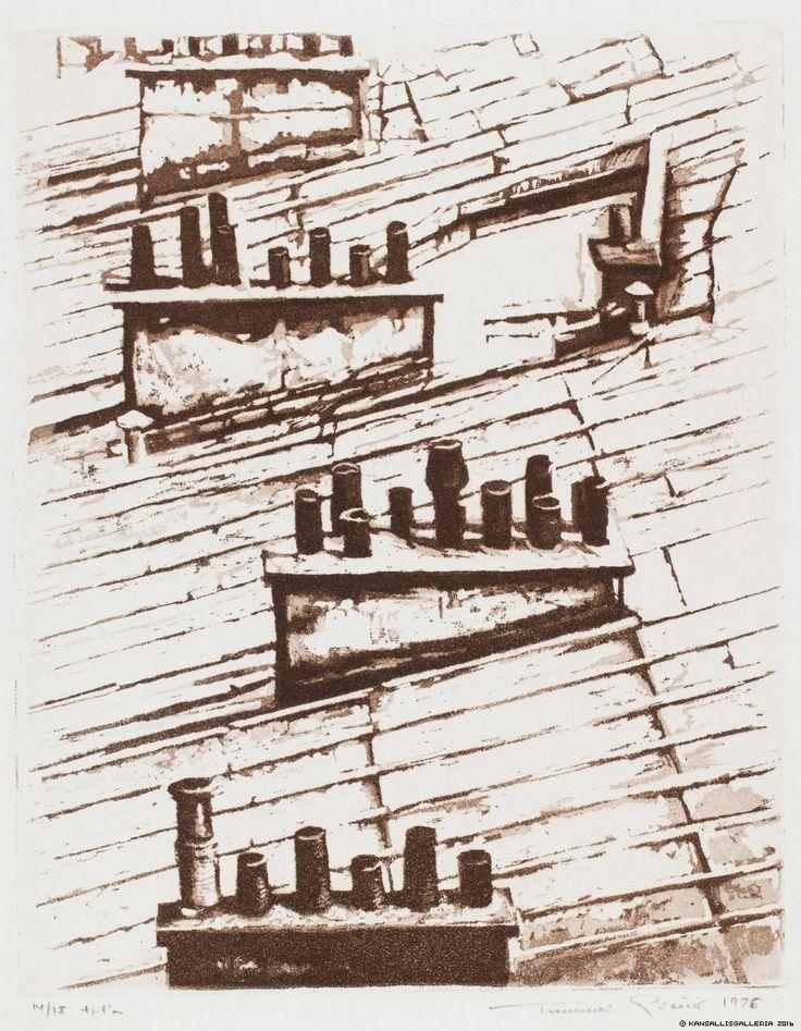 Pietilä, Tuulikki Kattojen savuruukut, Pariisi (Bagatelles I) 1976