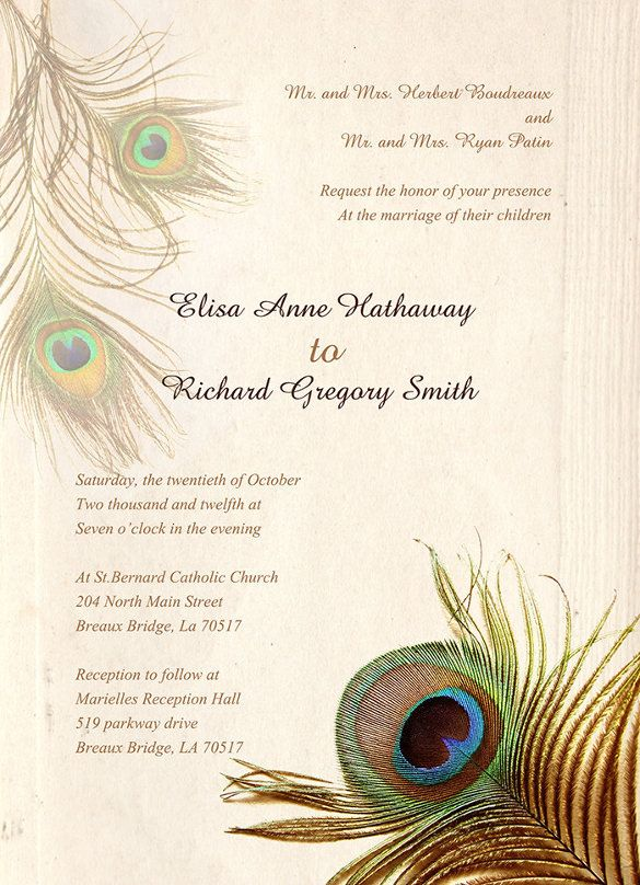25 best ideas about Free Invitation Templates – Invitation Card Formats
