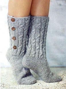 Носки вязаные ,подборка 2