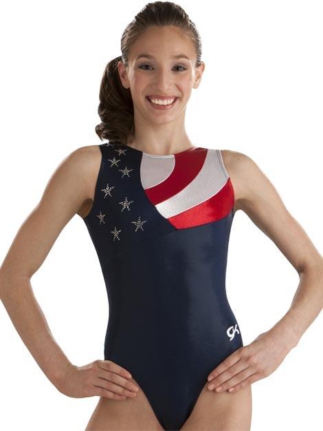 Patriotic Leotard - Shannon Miller from GK Elite. Love ...