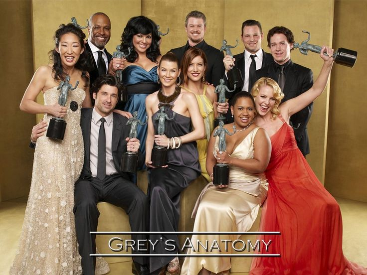 Greys Anatomy!
