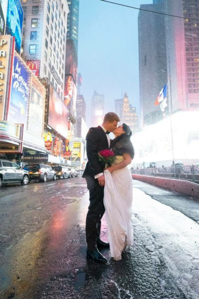 A Central Park Wedding in December and an Around The World Trip