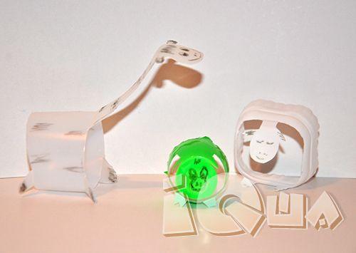Поделки из пластиковых стаканчиков: Животные.