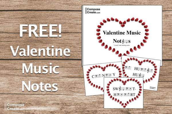 17 best images about piano music theory games activities for Valentine notes for her