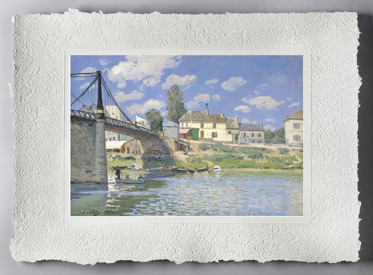 Alfred Sisley (Parigi, 30 ottobre 1839 – Moret-sur-Loing, 29 gennaio 1899) è stato un pittore inglese. Di scuola impressionista, nacque, visse e lavorò sempre in Francia, per cui è spesso considerato un artista Francese.