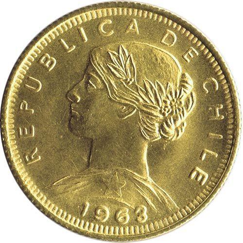 Moneda de oro 100 pesos, 10 Condores Chile (varios años)