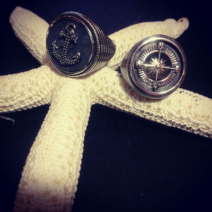 Silver Sailor Rings