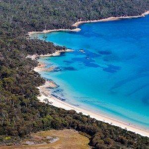 Hazards Beach in Freycinet National Park, Tasmania, Australia