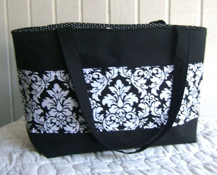 Mrs. Langley's Tote Bag Sewing Pattern – Free!!! | The Hip Home Ec Teacher