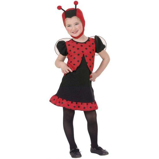 Lieveheersbeestje kostuums meisjes. Carnavalskleding #carnaval