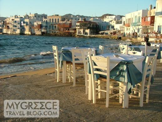 Shirley Valentine Restaurant Mykonos, Greece