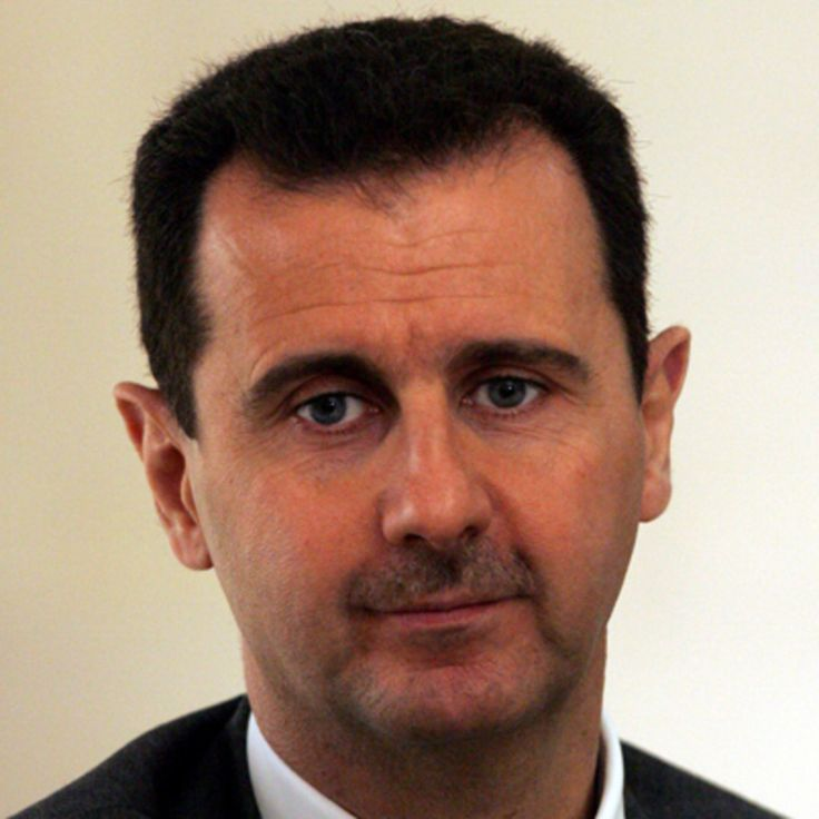 Bashar al-Assad  OCCUPATION  President (non-U.S.)  BIRTH DATE  September 11, 1965 (age 51)  EDUCATION  Western Eye Hospital, Arab-French al Hurriya School, University of Damascus, Tishreen Military Hospital  PLACE OF BIRTH  Damascus, Syria  AKA  Bashar al-Assad  FULL NAME  Bashar Hafez al-Assad  ZODIAC SIGN  Virgo