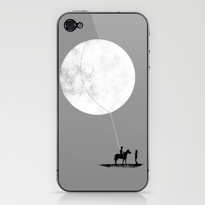 do you want the moon? iPhone & iPod Skin by sayahelmi - $15.00