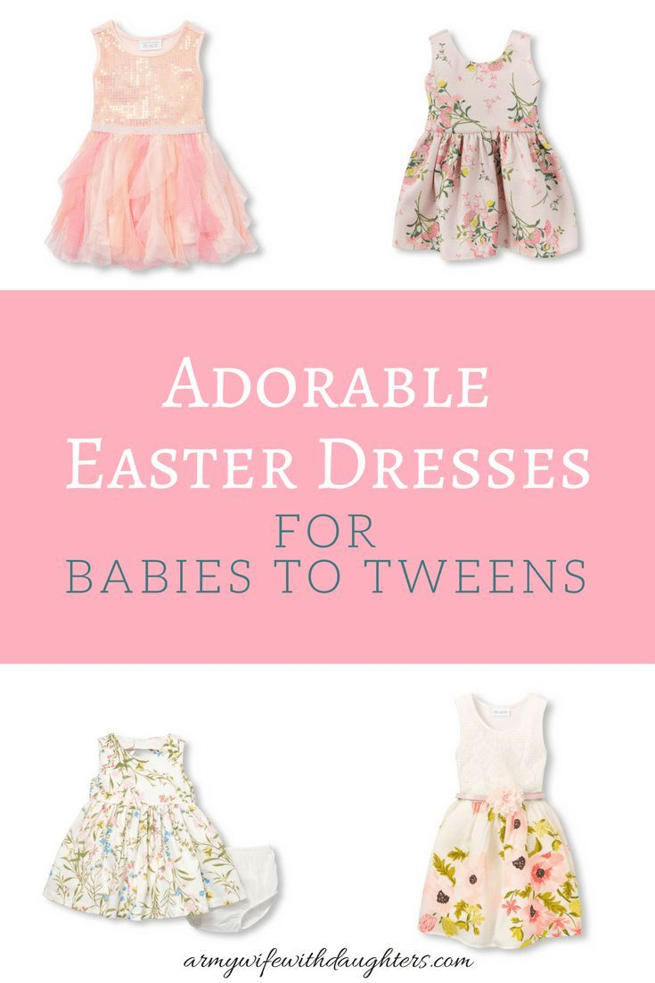 2457fe5eec379 Adorable Easter dresses for girls. These are some adorable dresses from my  favorite stores. They are all budget friendly dresses.