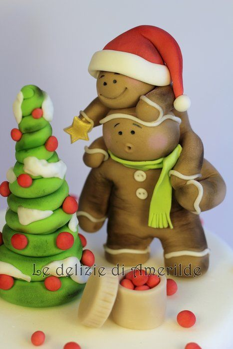 Xmas Cake Toppers