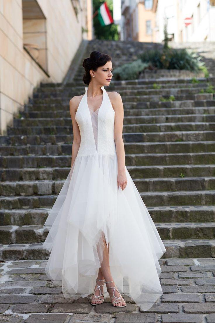 tulle wedding dress, tüll esküvői ruha.