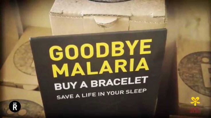 It's more than just a bracelet. It's an opportunity to save a life. Watch the Goodbye Malaria Relate Bracelet video now (and buy them from our online shop)
