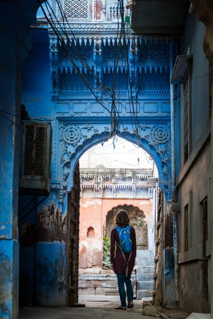 The Street And People Of Blue City Jodhpur Lost With Purpose Culture Travel India Photography Hugh Gallagher College Essay