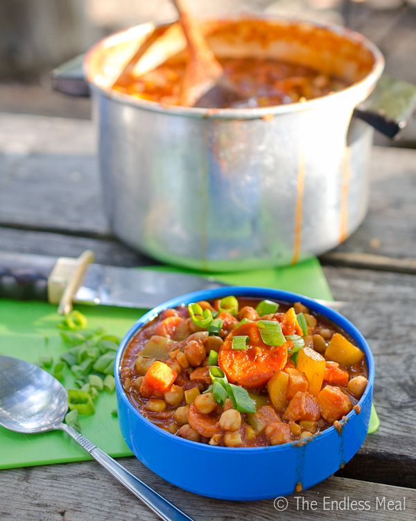 18 best gluten free and vegetarian camping food images on pinterest chickpea and yam chili camping foodsvegetarian forumfinder Gallery